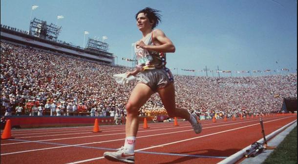 Maratón olímpico Los Angeles 1984
