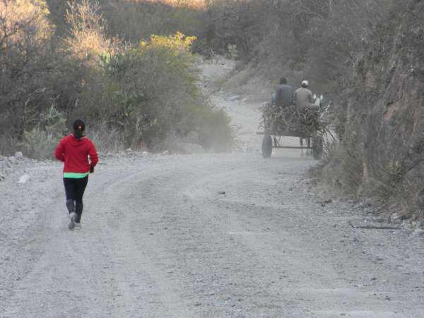 Entrenamiento de Marcela Pensa en la Provincia de Catamarca - Argentina.