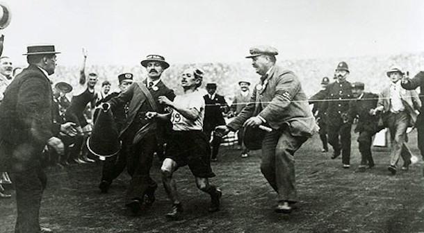 maraton olimpico 1908