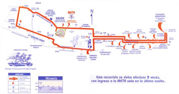 Ruta 42K Maratón Internacional de Costa Rica