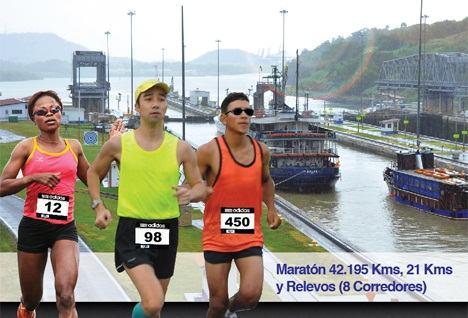 Maratón Internacional Canal de Panamá 2012