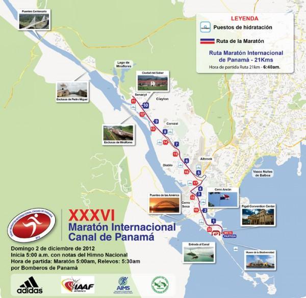 Ruta Maratón Internacional Canal de Panamá