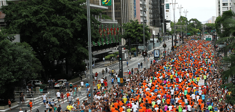 São Silvestre em São Paulo por Sou Maratonista