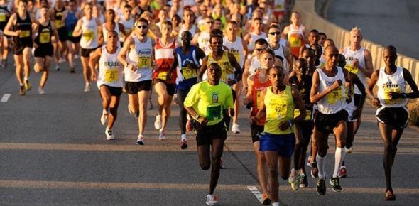 marathon runners multi