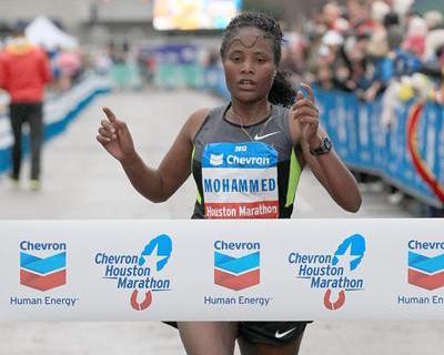 ganadora femenina Houston 2013