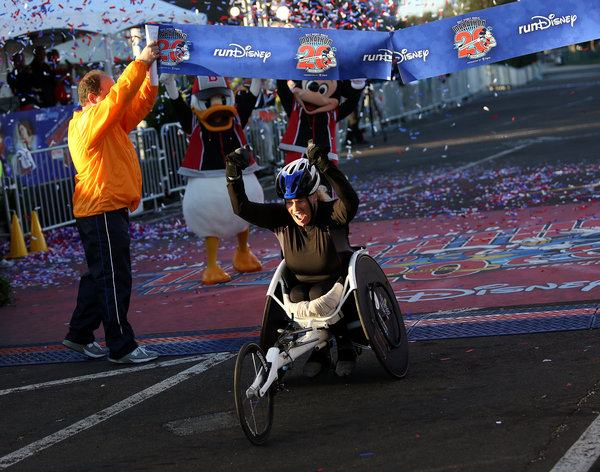 Walt disney 2013 ganadora silla de ruedas