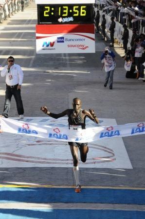 Maraton Lala 2013 ganador masculino