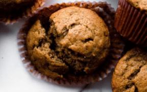 Muffins de banana y coco por SoyMaratonista