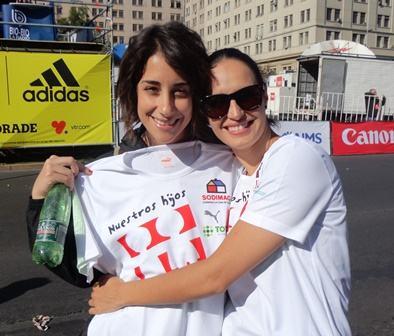 Elisa Zulueta y Fernanda Urrejola