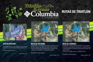 Ruta del Triatlón Extremo Columbia