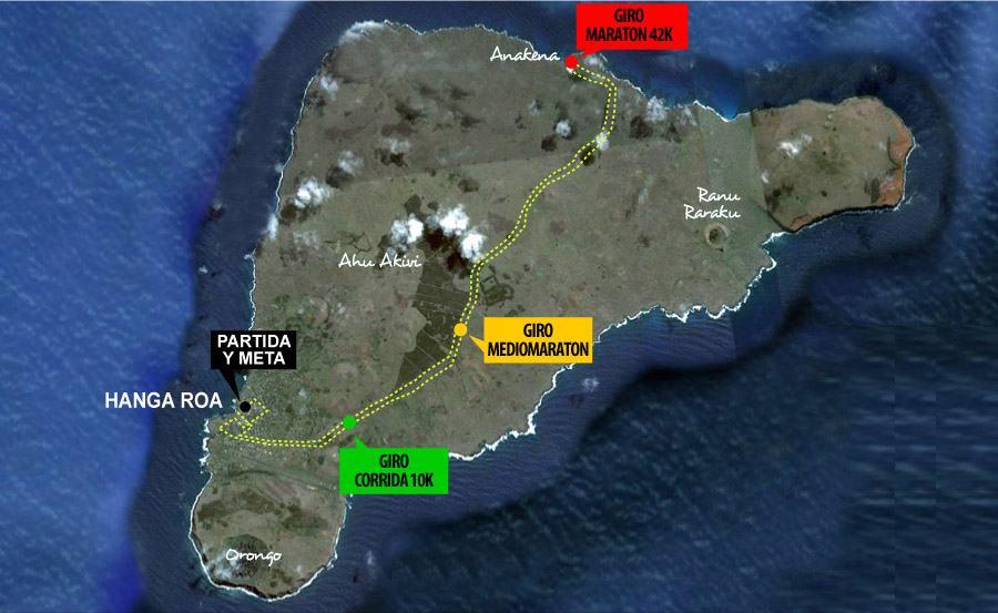 Mapa Rapa Nui 42K