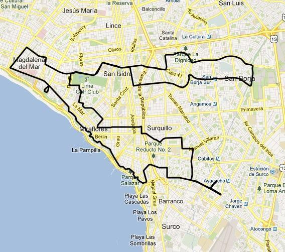 Ruta Lima 42K