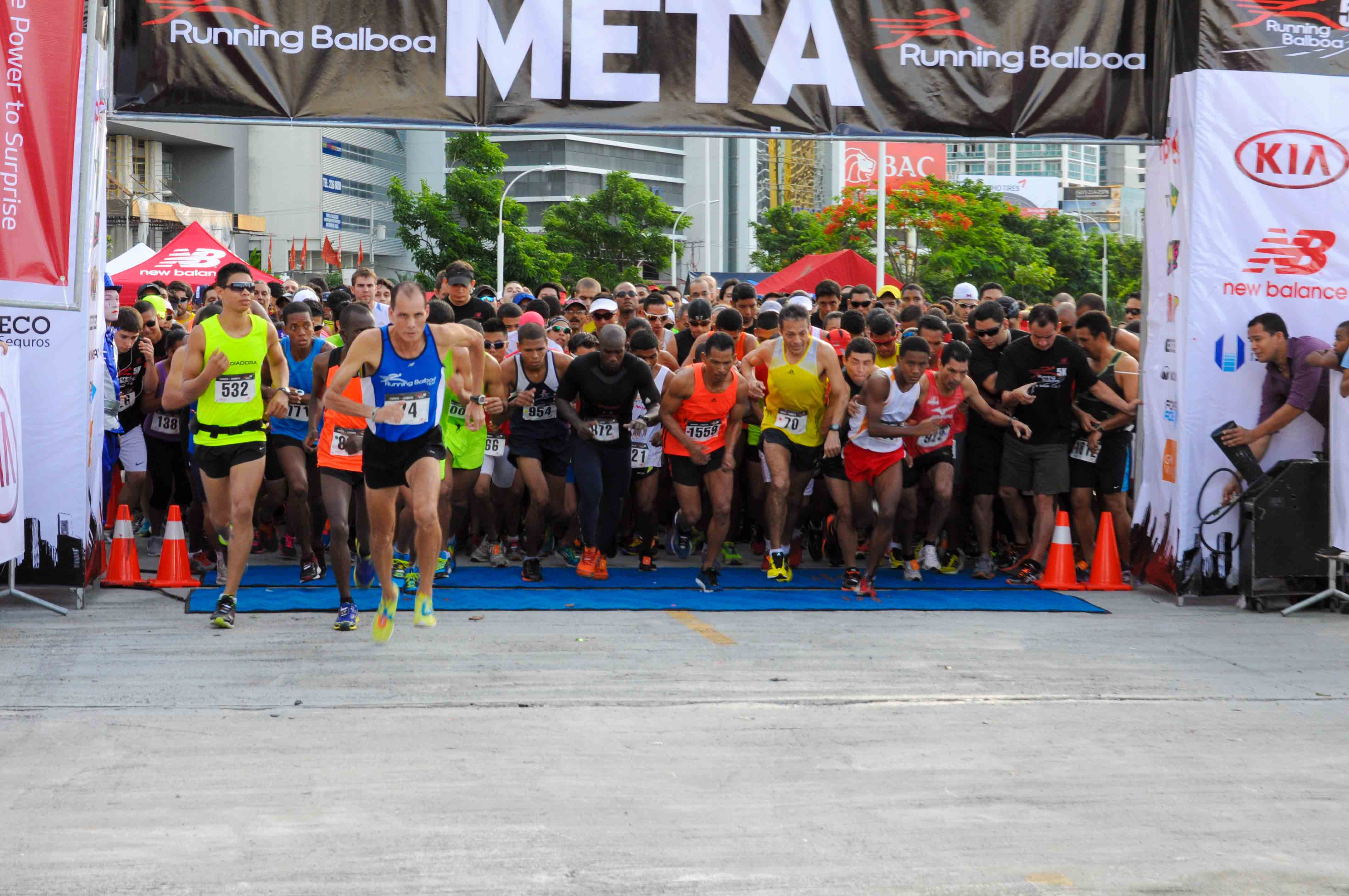 Carrera Caminata 5K 5to Aniversario de Running Balboa PTY