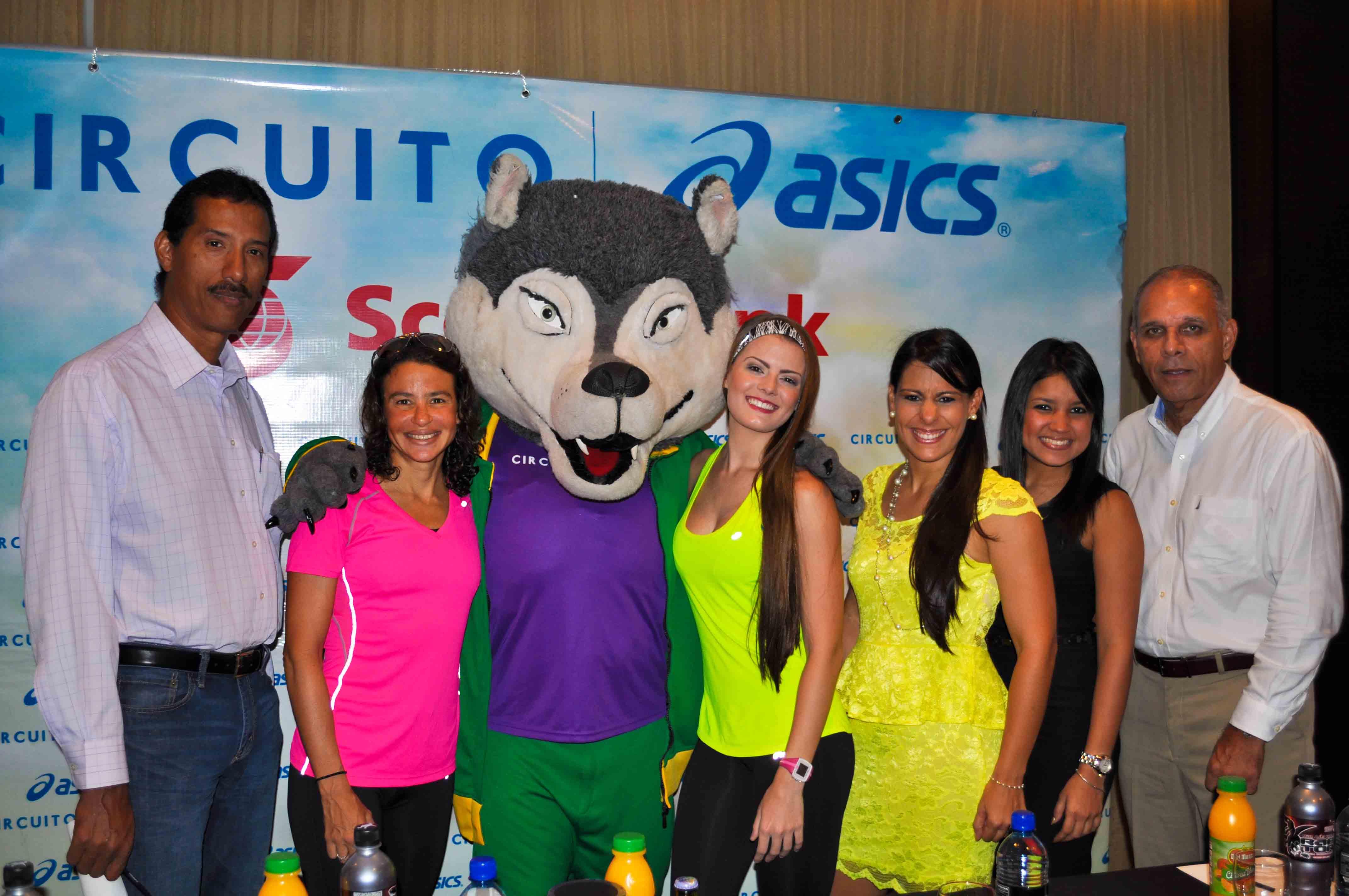 Conferencia de Prensa Circuito Asics City PTY