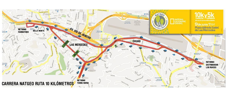 Ruta Nat Geo 2013