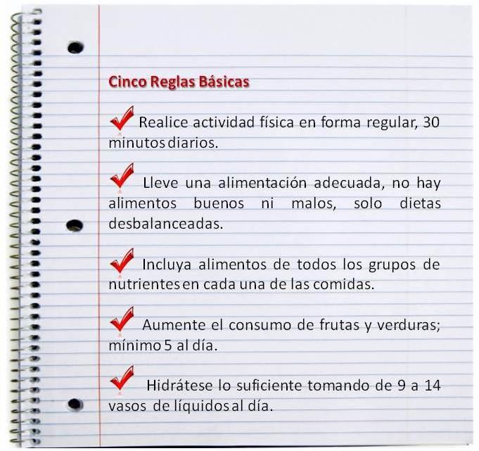 5 reglas basicas