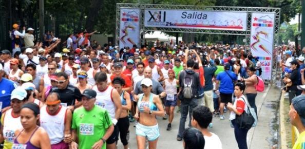 medio maraton simon bolivar 2012