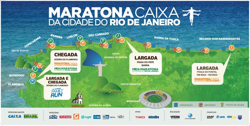Ruta Maraton Rio de Janeiro