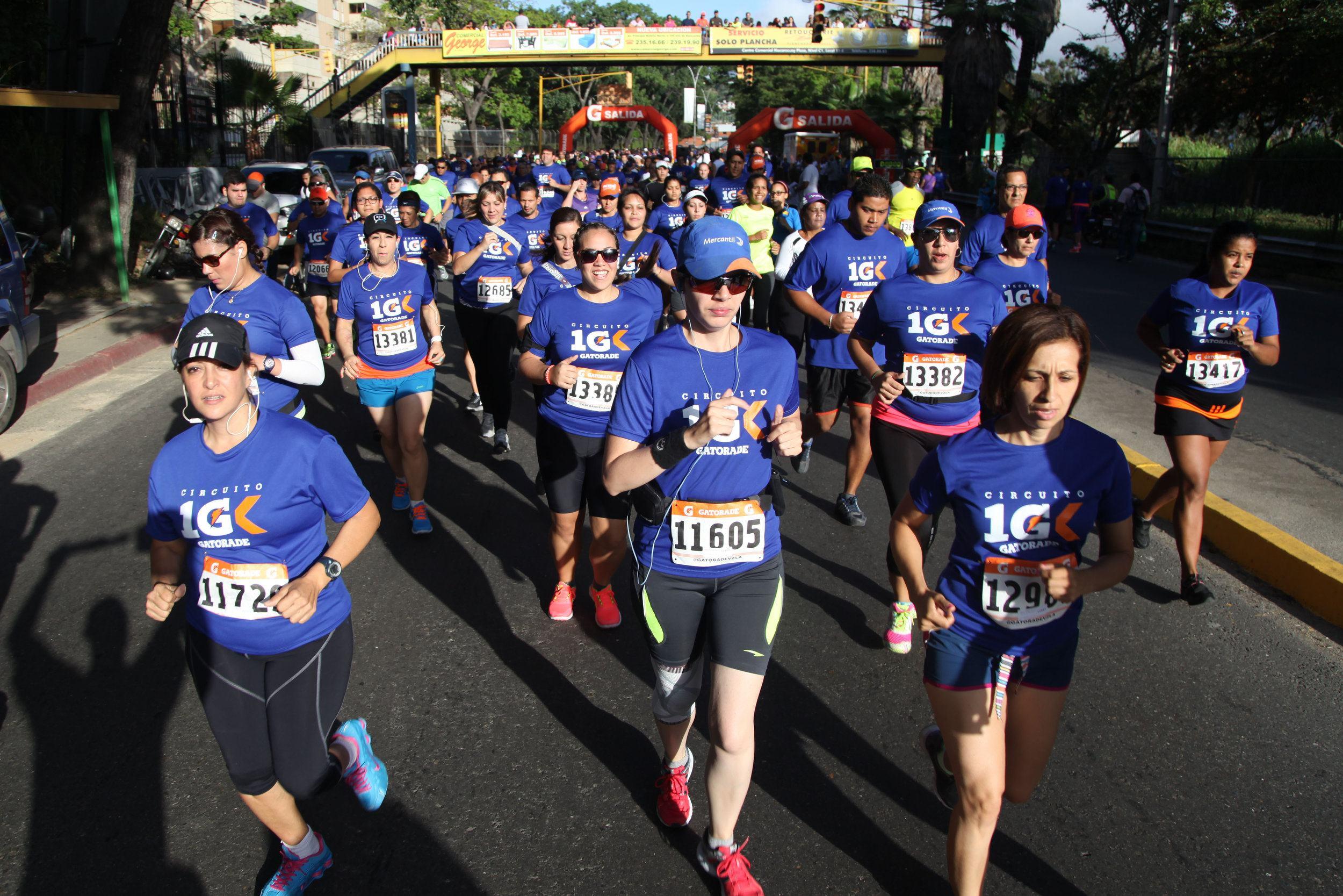 Circuito Gatorade 10K 2013