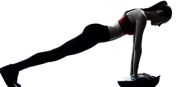 mujer ejercicio estabilidad