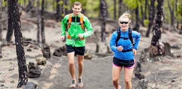 running pareja
