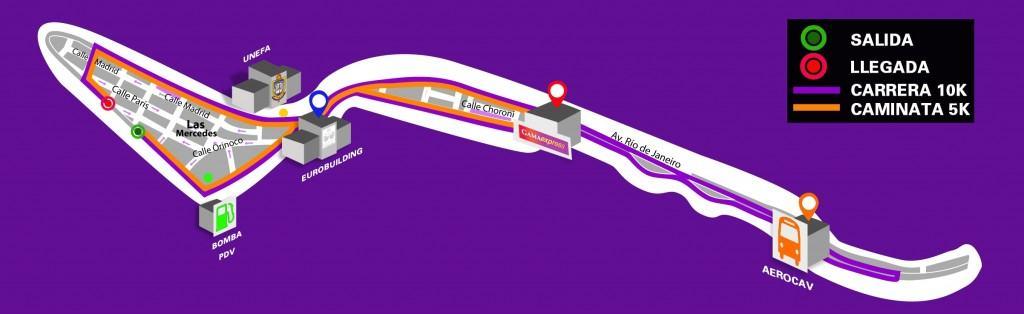 Mapa Carrera GAMA