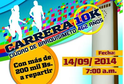 Carrera Ciudad de Barquisimeto 10K,