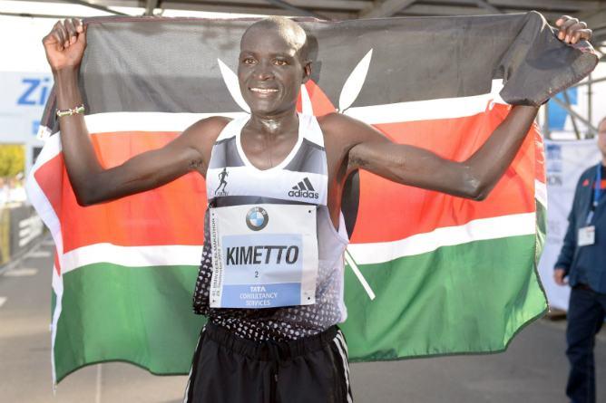 Kimetto  ganador Berlin 2014