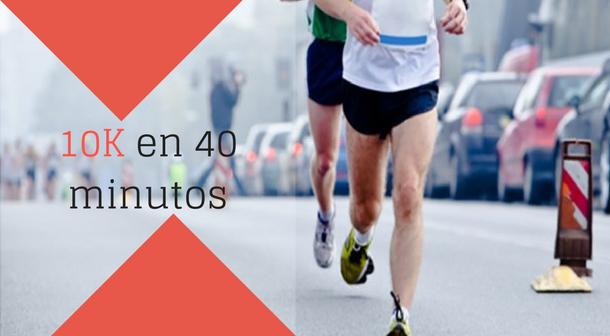 Correr 20 minutos todos los dias
