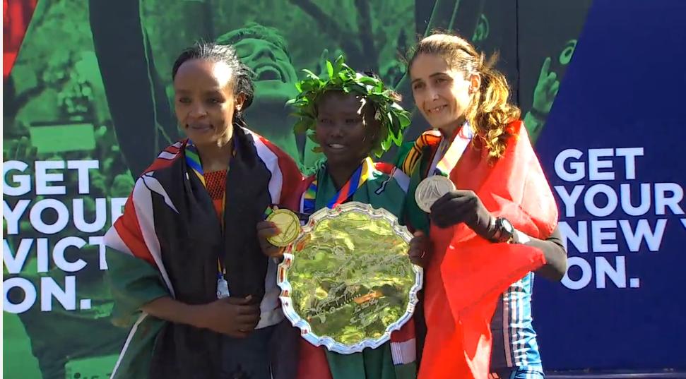 Ganadoras Maratón Nueva York 2014
