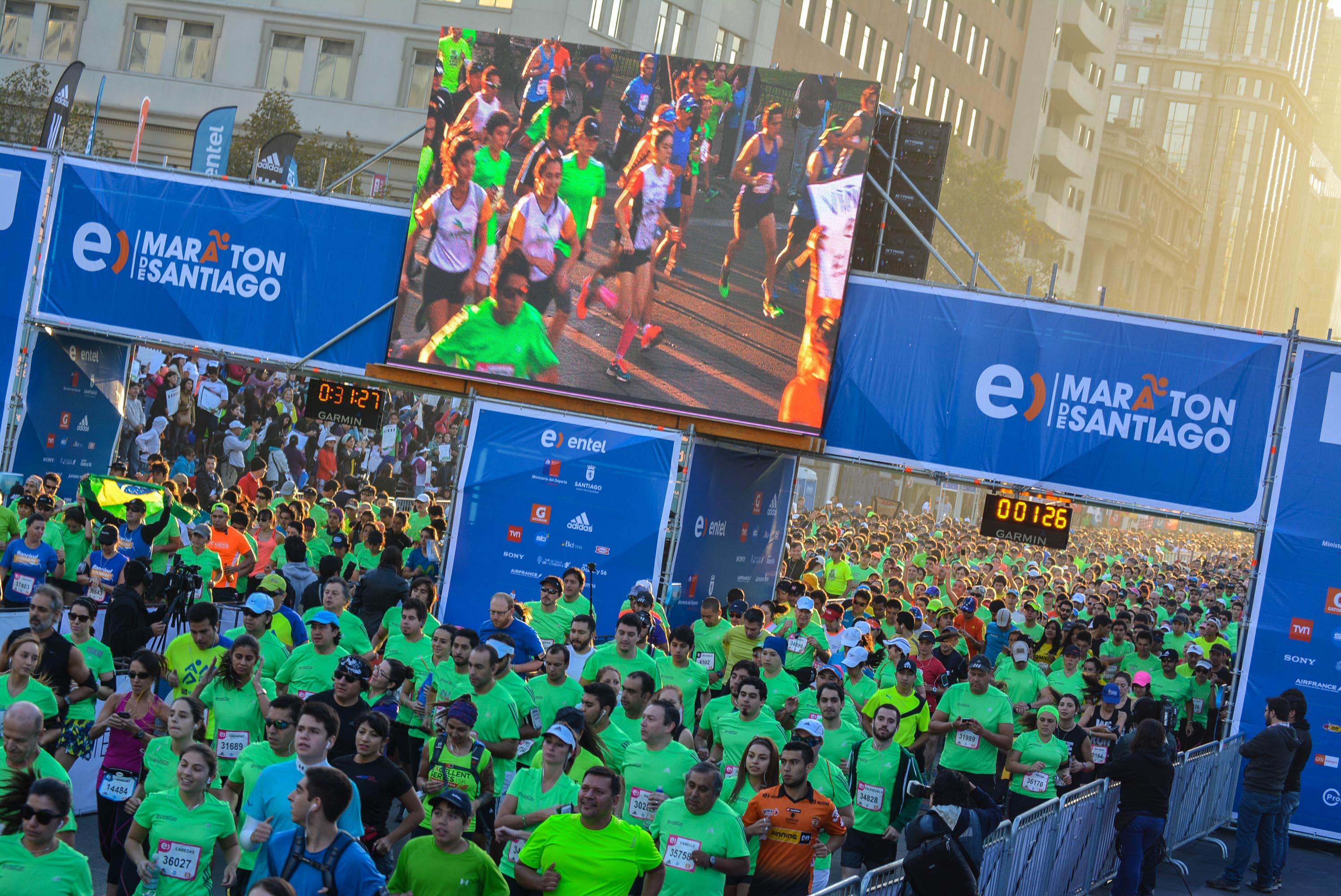 9na Maratón Santiago de Chile 2015 (2)