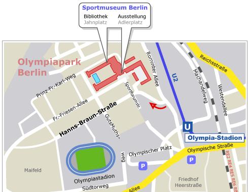 Dirección museo del maratón Berlín