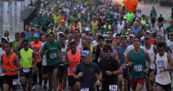 músculos en la carrera