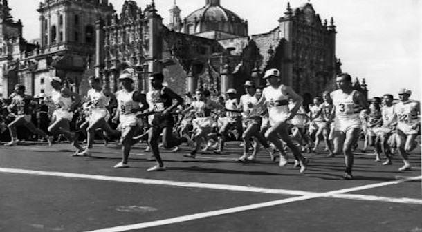Maraton olimpico de México 1968