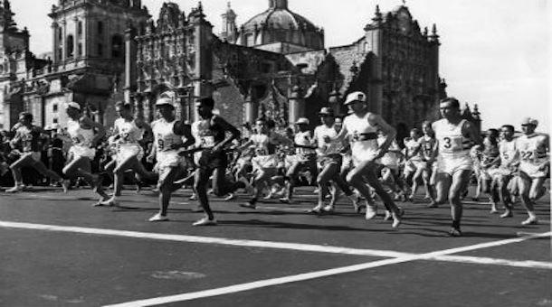 El Maraton Olimpico De Mexico 1968 Soy Maratonista