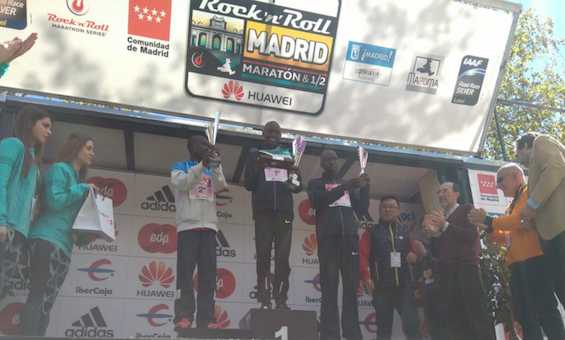 Maratón Madrid 2016