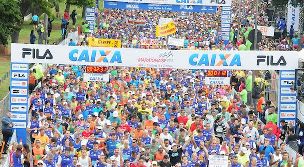 Por tercer año keniatas dominan Maratón de Sao Paulo 2016 (Bra)