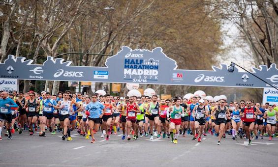 Salida medio maraton madrid