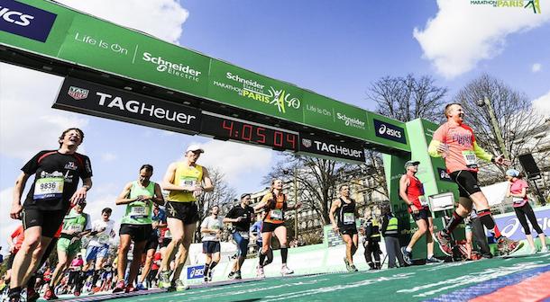 maraton Paris 2016