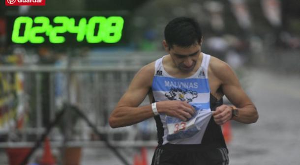 Rios y Luján campeones de maratón de Argentina