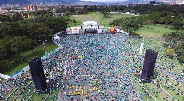 Media maraton Bogota 2016