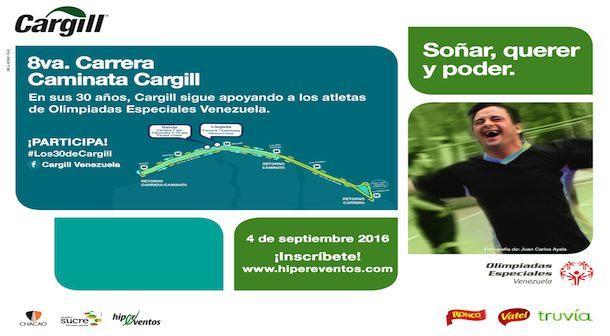Carrera Caminata Cargill 2016 8 años comprometidos con una noble causa