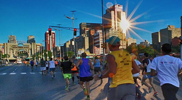 Medio maratón Simón Bolívar