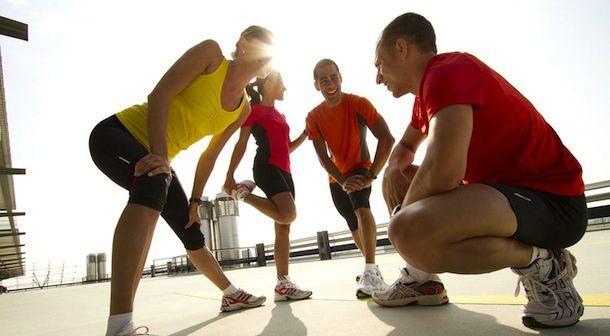 Preparación física antes, durante y después de una carrera