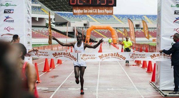 Por cuarto año Kenianos vencen en Maratón de Costa Rica