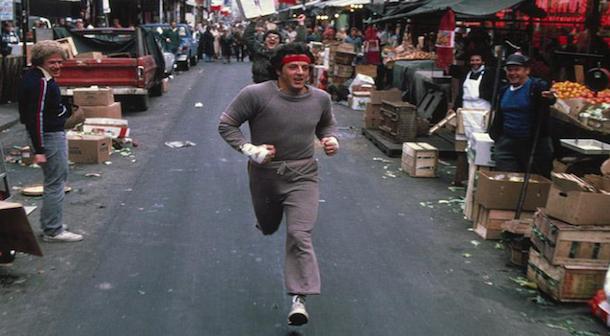 ¿Sin ganas de correr? … Rocky puede ayudarte