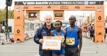 Jepkosgei récord mundial Medio Maratón Valencia 2017