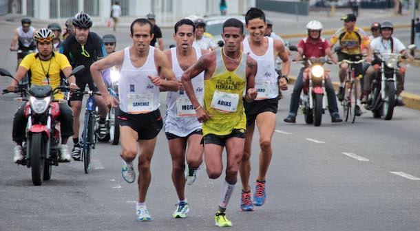 Lervis Arias Maratón del Táchira 2017