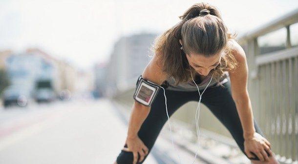 respiración al correr
