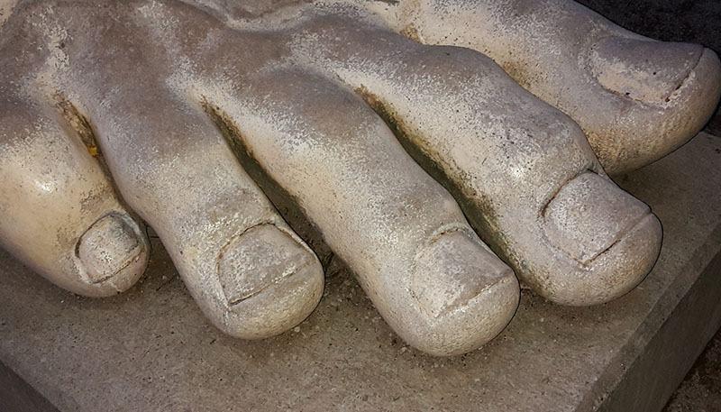 Uñas pies correr